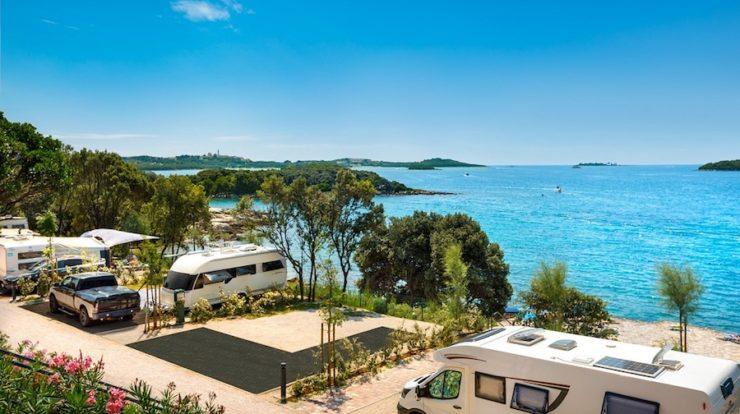 Luxus-Camping und Wasserpark auf Istrien